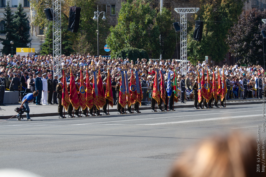 Парад на Крещатике (много фото)