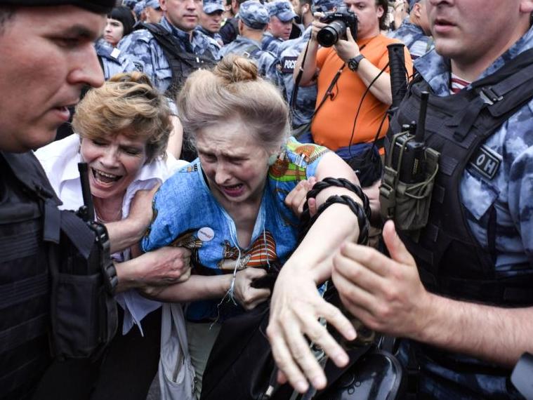 """Страх и ненависть в Московии. Из серии """"Дно за дном""""."""