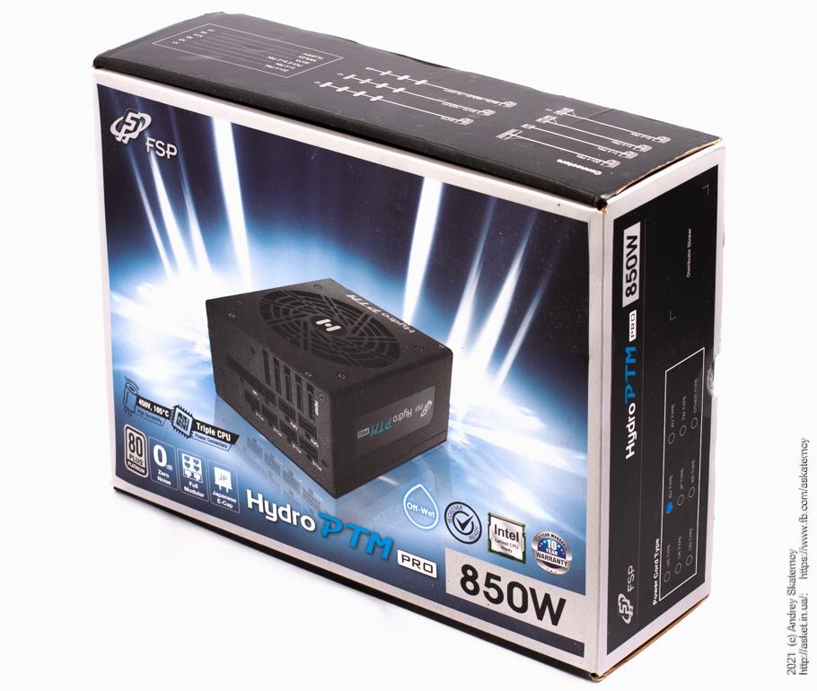 FSP Hydro PTM Pro – король электричества в вашем ПК